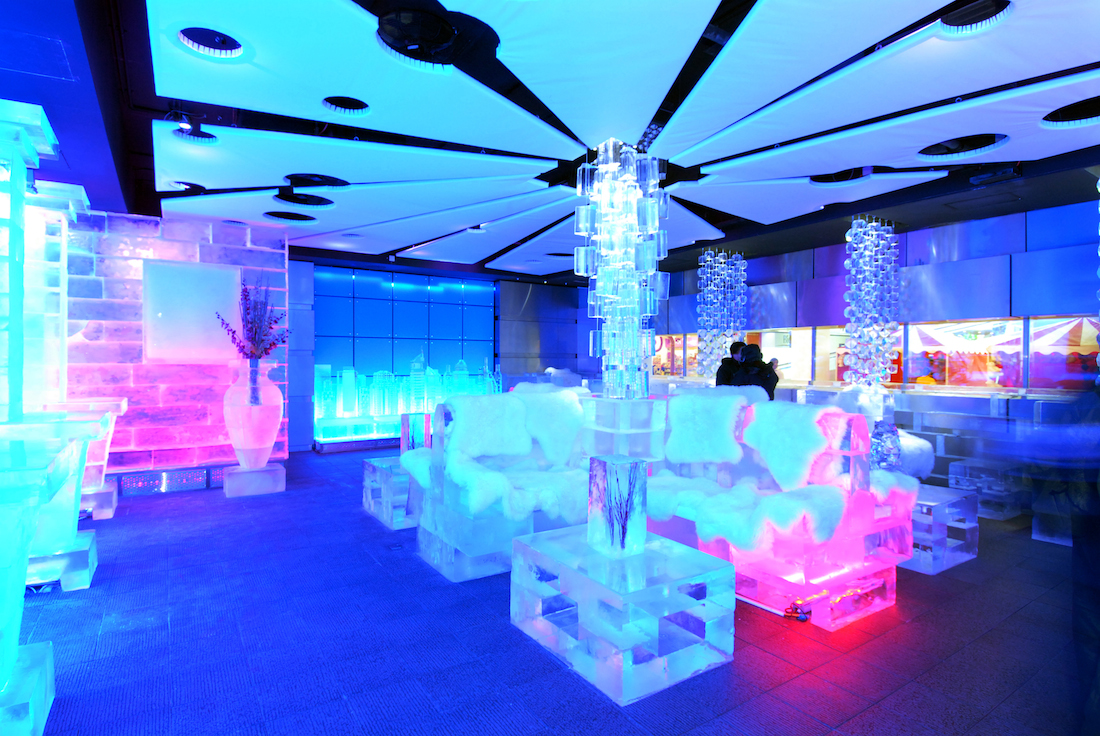 A Dubai ice bar built by Bayley Group, similar to the one that will appear in Toronto.