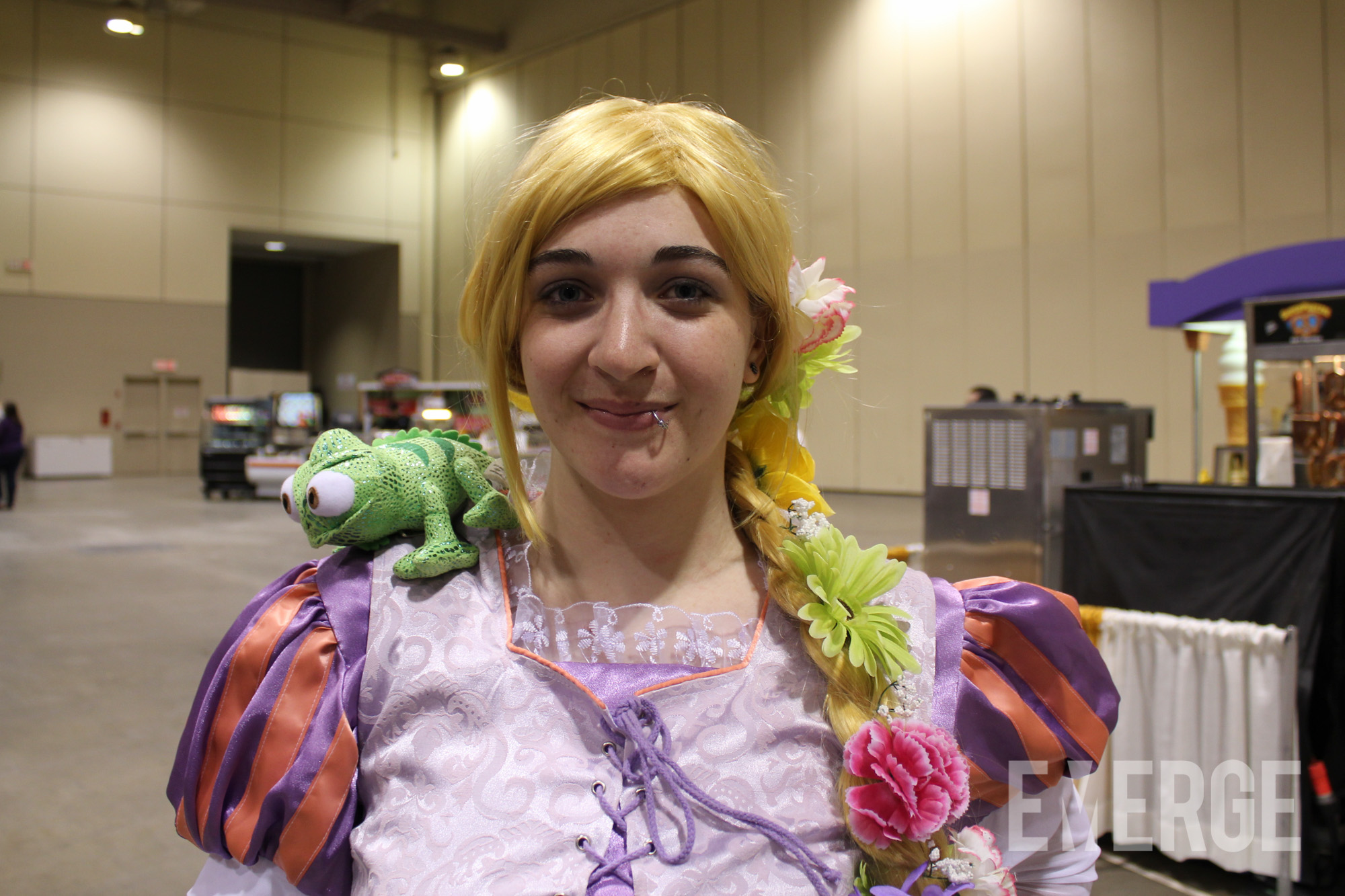 Rapunzel from Tangled made an appearance as well!