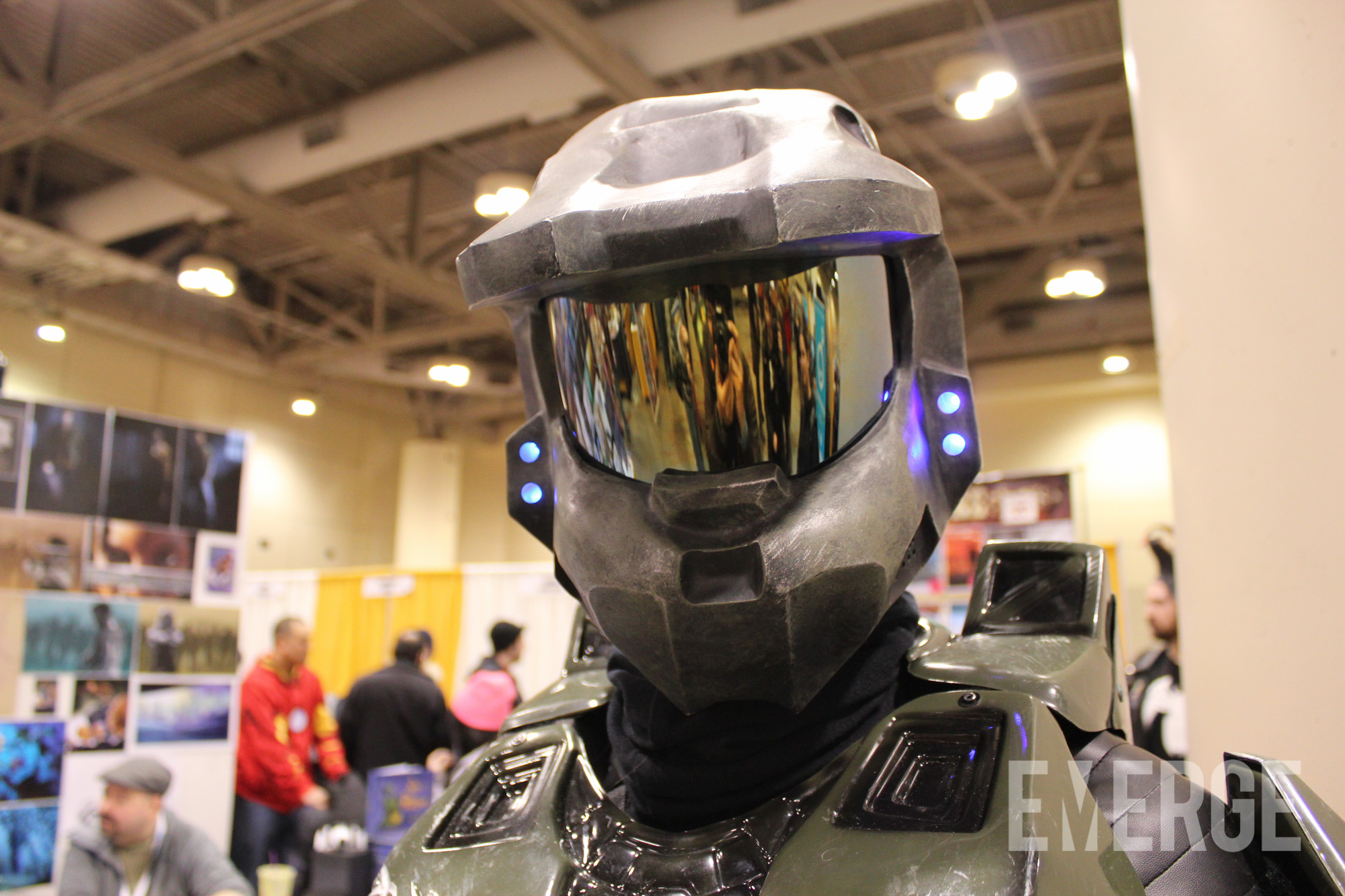 You can't see it, but Master Chief is smiling big with Halo 5 coming out later this year
