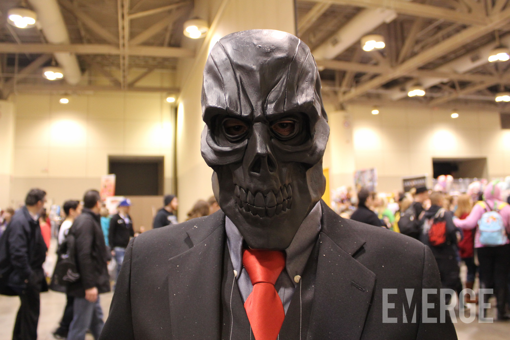 Black Mask. King of the criminal underworld. Despises Batman with a passion and surprisingly, very photogenic