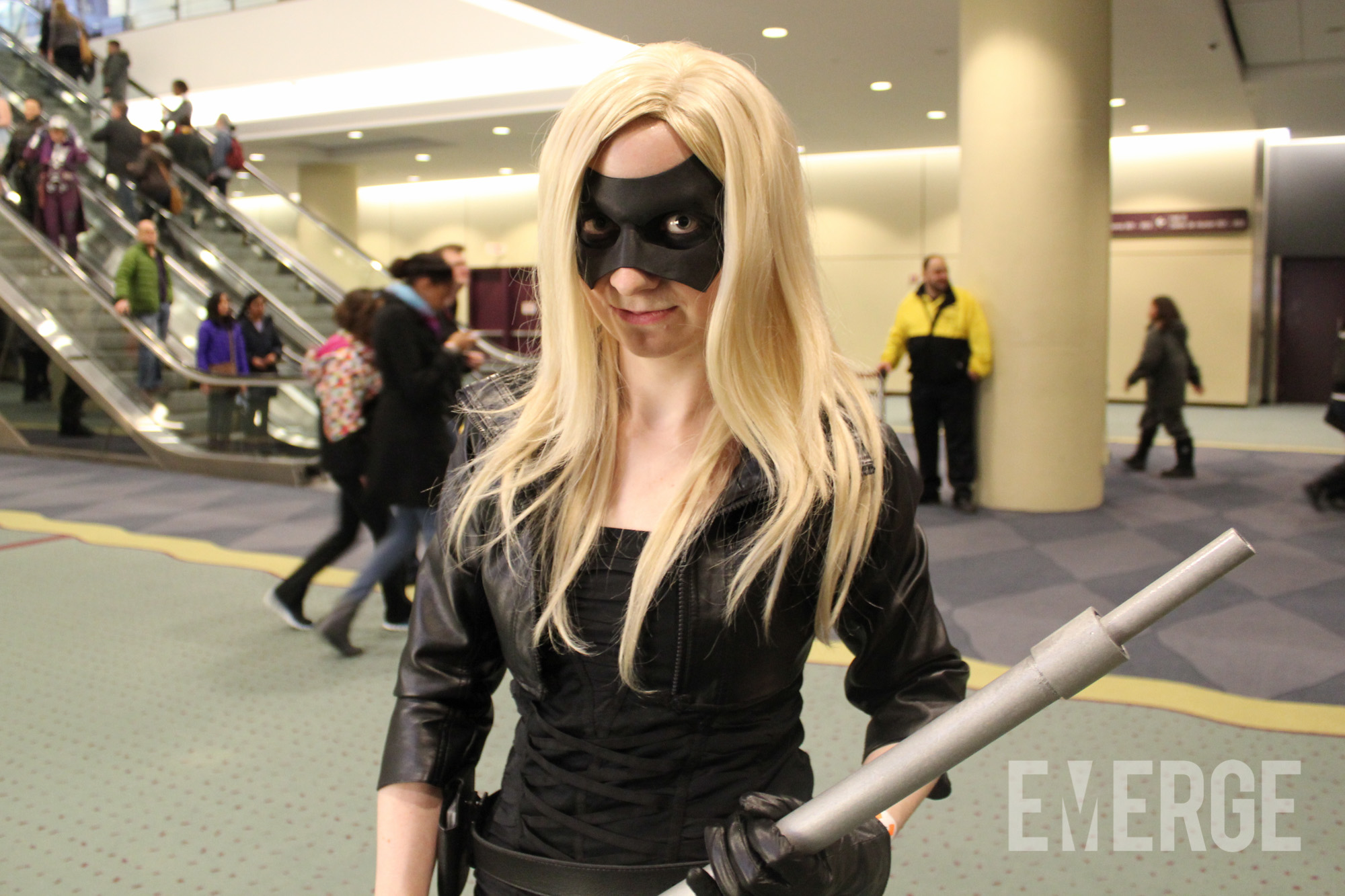 "A Black Canary enthusiast using the updated look from the hit CW show ""Arrow"""